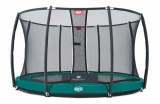 PROFI BERG InGround GREEN Elite+ Tattoo 430 cm + síť + DOPRAVA ZDARMA