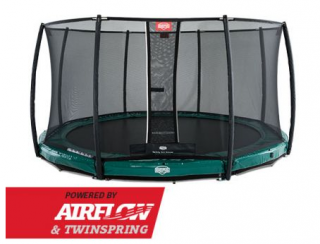 PROFI BERG Inground Elite GREEN 430 cm + síť DELUXE + DOPRAVA ZDARMA