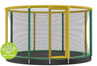 Trampolína AKROBAT Gallus Inground Green