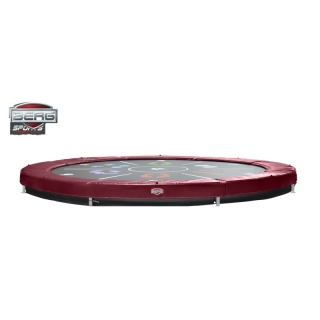PROFI BERG InGround RED Elite+ Tattoo 430 cm + DOPRAVA ZDARMA